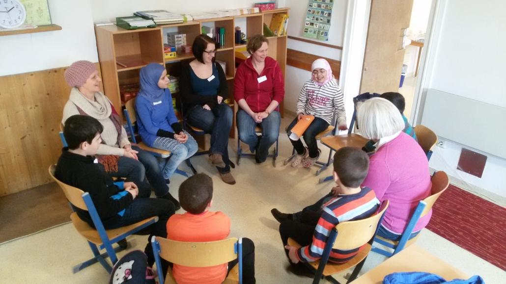 Elternarbeit in den Lerncafés