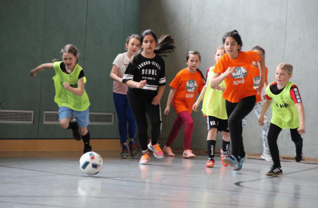 kick mit – Fußballtraining von Mädchen für Mädchen